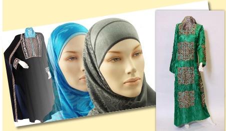 Retro fashion for muslimah 4